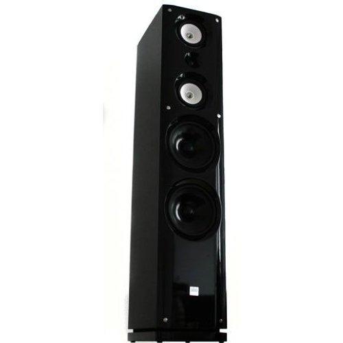 Koda 3-Wege Stereo Lautsprecher mit Holzkorpus 180W RMS - Edles Pianolack Design