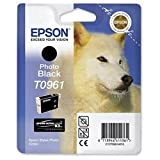 Brand New. Epson T0961 Inkjet Cartridge UltraChrome K3 for Stylus R2880 Photo Black Ref T09614010