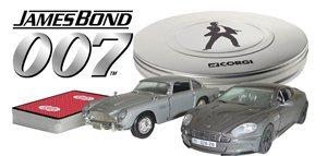 Corgi James Bond 007 Casino Royale Aston Martin DB5 and DBS set 1.36 scale diecast model
