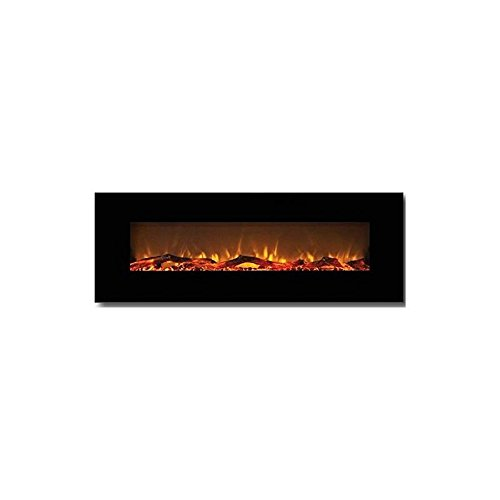 Gibson Living GL5072LE Oakland 72 Inch Log Linear Be ruined Mounted Electric Fireplace
