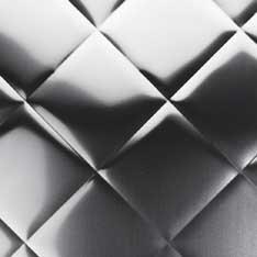 quilted satin brushed artistic stainless steel kitchen backsplash 30