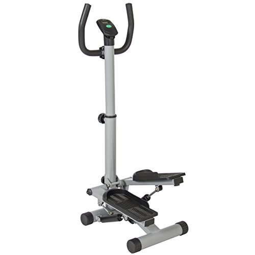 Best Choice Products Twister Stepper Stair Climber W/ Handle Bar Fitness Home Exercise Cardio Workout