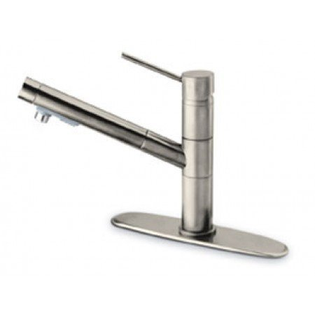 La Toscana 78PW568 Elba Pull-Out Spray Kitchen Faucet, Brushed Nickel