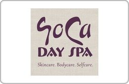 Soca Day Spa Gift Card ($50) front-897345