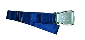 """AIRBUS - """"Airline Seatbelt"""" - Gürtel -- Gr. XS - XXL - Stufenlos einstellbar - Farbe Blau"""
