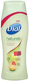 Dial Body Wash Naturals Tangerine and Guava 16 Ounce