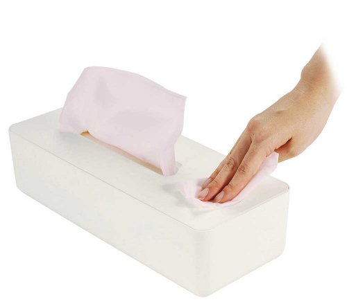 ティッシュボックス ルテラ ホワイト 76058