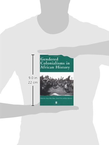 Gendered Colonialisms African (Gender and History Special Issues)