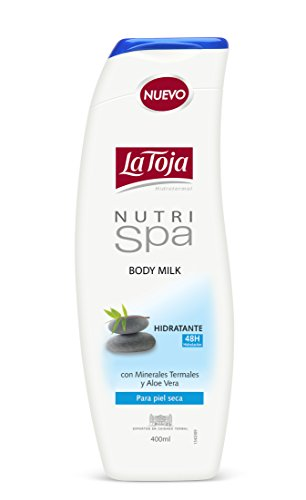 La Toja Lozione Corporale, Nutri Spa Body Milk Moisturizing Care, 400 ml
