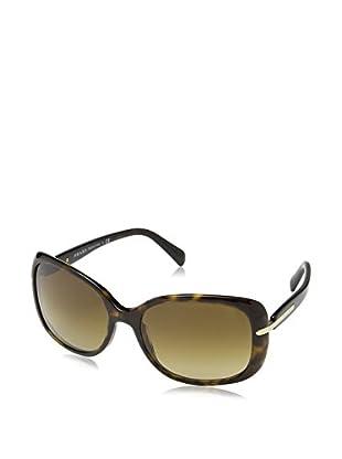 Prada Gafas de Sol Polarized 08OSSUN_2AU6S1 (57 mm) Havana