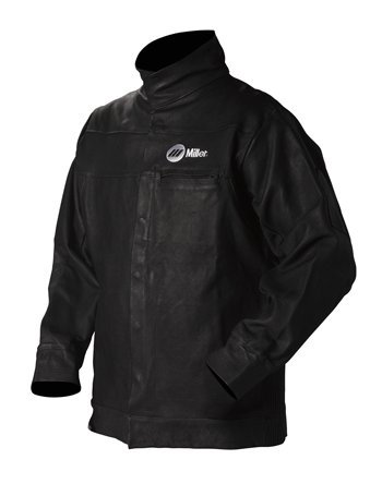 Jacket, Black, Pigskin Leather, Small
