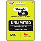 Straight Talk 30 Day/1 Month Refill Service Card (Mail Delivery)