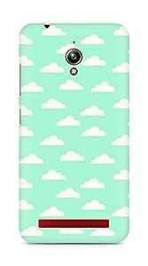 Amez designer printed 3d premium high quality back case cover for Asus Zenfone Go ZC500TG (Cloud Pattern4)