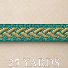 Websters Pages - Ladies and Gents Collection - Designer Ribbon - Gentleman's Blue - 25 Yards