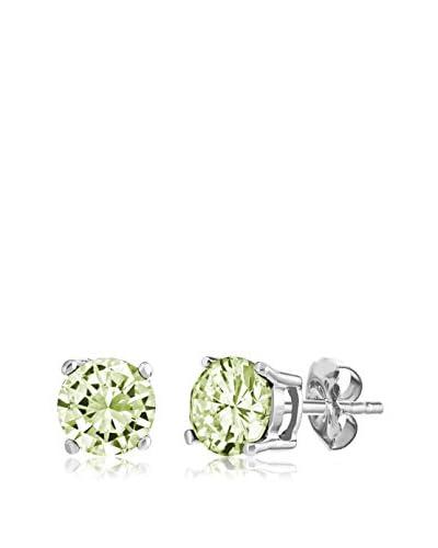 Pori Jewelers Sterling Silver Peridot Stud Earrings