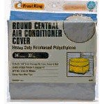 Frost King CC30XH 34x30 Round Central Air Conditioner Cover (Heavy Duty Reinforced Polyethylene)