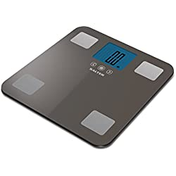 Salter Maximum Capacity Body Analyser Scale - Charcoal