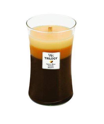 Woodwick Candle Café Sweets Trilogy Large Jar