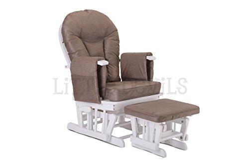 Fauteuils repose pieds et fauteuils bascule supremo for Chaise a bascule allaitement