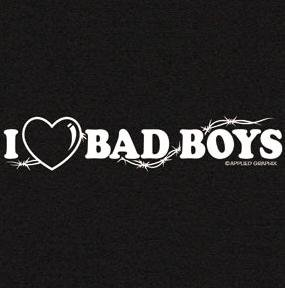 Youth T-Shirt : I Love Bad Boys - Trendy Design with Heart and Barbed Wire - Buy Youth T-Shirt : I Love Bad Boys - Trendy Design with Heart and Barbed Wire - Purchase Youth T-Shirt : I Love Bad Boys - Trendy Design with Heart and Barbed Wire (Gildan, Gildan Boys Shirts, Apparel, Departments, Kids & Baby, Boys, Shirts, T-Shirts, Short-Sleeve, Short-Sleeve T-Shirts, Boys Short-Sleeve T-Shirts)