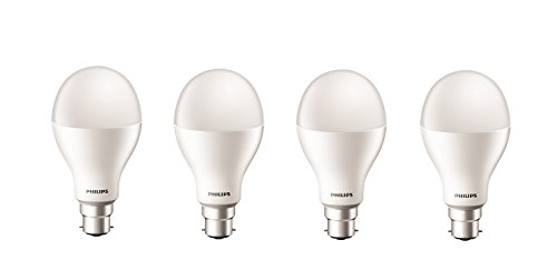 Philips Stellar Bright 20W B22 LED Bulb (Cool Day Light, Pack Of 4)