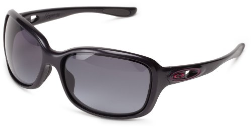... box or recent and Get It Now for cheap Get It Now Oakley Womens Urgency  Oo9158-05 Wrap Sunglasses,graffiti Frame/black Grey Gradient Lens,one Size