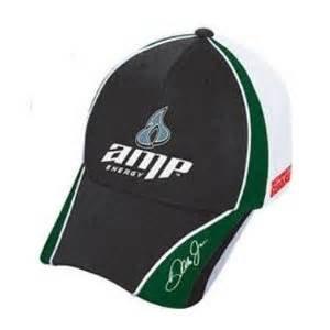 Dale Earnhardt Jr #88 AMP Green White Pit Cap Hat Chase Authentics