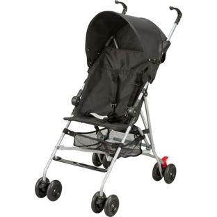 BabyStart BabyStart Pushchair with UV30 - Black. with UV30 - Black.