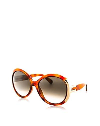 Chloé Women's CE634S Sunglasses, Light Havana/Brown
