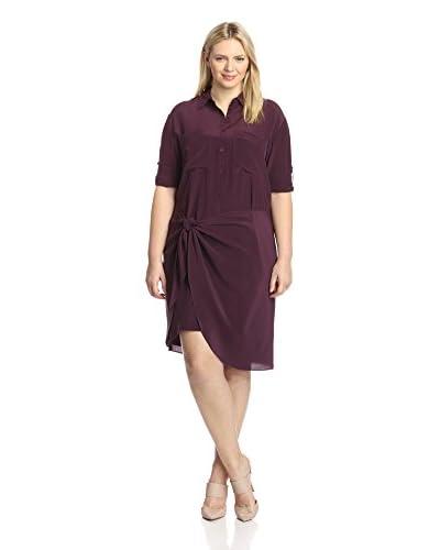Acrobat Plus Women's Silk Shirt Dress