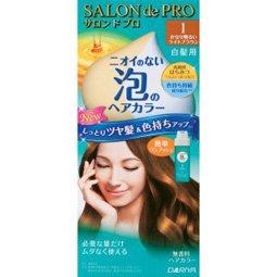 サロンドプロ ワンプッシュ泡のヘアカラー 1