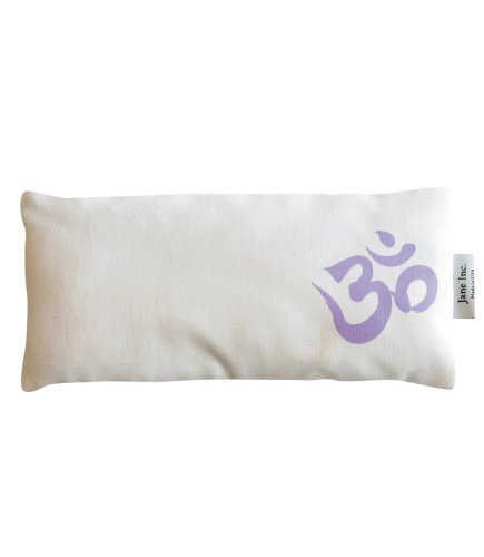 Jane Inc. Organic Cotton Eye Pillow - Om - Lilac
