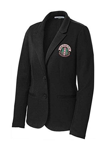 Alpha Kappa Alpha Crest Blazer Medium Black