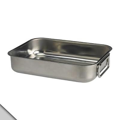 "IKEA - KONCIS Roasting pan, stainless steel 10""X8"""