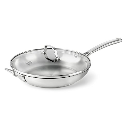 Calphalon Classic Stainless Steel Cookware Fry Pan 12 Inch
