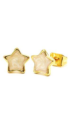 chic-net-studs-textura-brass-estrella-8-mm-multicolour-esmalte-sin-niquel-laton-oro