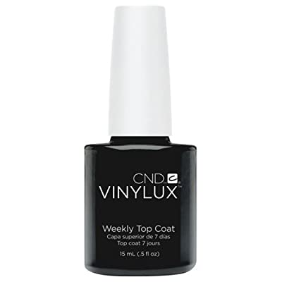 CND Vinylux Weekly Top Coat, 0.5 OZ