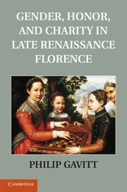 Gender, Honor, and Charity in Late Renaissance Florence