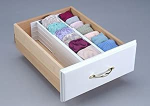 Drawer Organizer - Dream Drawer (White) (4H x 12 - 18L)