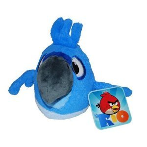 Angry Birds RIO 8-Inch Blue Bird with Sound - 1