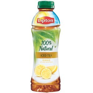 Lipton 100% Natural Iced Tea with Lemon 20 Ounces (Pack of 15)