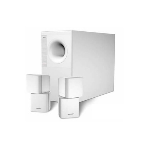 Bose Acoustimass 5 Home Entertainment Speaker System (White)
