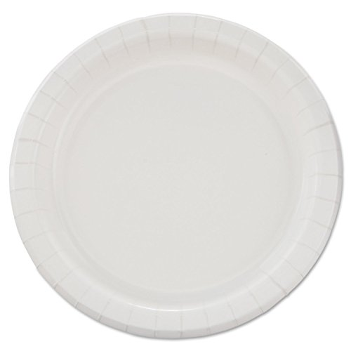 """SOLO Cup Company  MP9B Bare Eco-Forward Clay-Coated Paper Dinnerware, Plate, 8 1/2"""" dia (Case of 500)"""