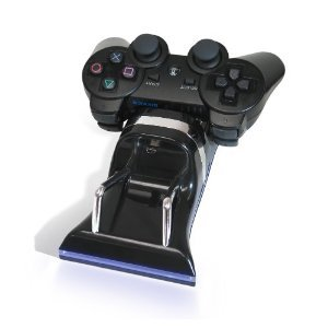 ATC Dual Charging Station / USB LED Charger Station for Sony PS3 Controllers Play Station 3