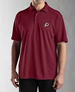 Washington Redskins Mens Drytec Genre Polo Chutney by Cutter & Buck