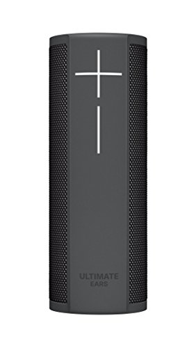 얼티밋 이어 블라스트 포터블 블루투스 스피커 Ultimate Ears BLAST Portable Wi-Fi/Bluetooth Speaker with hands-free Amazon Alexa voice control (waterproof) - Graphite Black