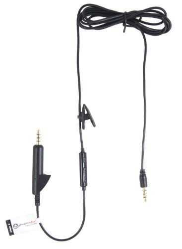 Headphonemate Inline Remote And Microphone Cable For Bose Qc2 Qc15 And Iphone