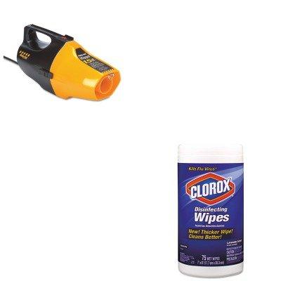 Kitcox01761Easho9991910 - Value Kit - Shopvac Hippo Handheld Vac (Sho9991910) And Clorox Disinfecting Wipes (Cox01761Ea) front-467327