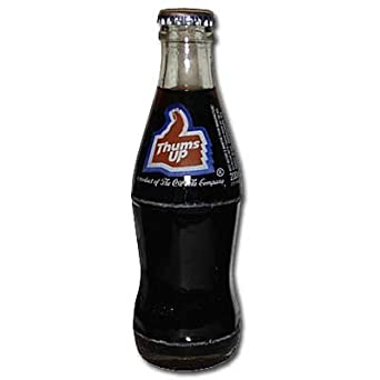 India Coca-Cola Thums Up Bottle 2012 Original Label at Amazon's
