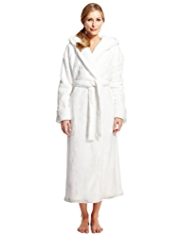 Autograph Hooded ShimmerSoft™ Dressing Gown